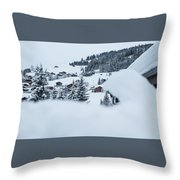 Secret View- Throw Pillow by JD Mims