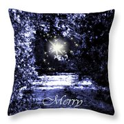 Secrets Christmas Card  Throw Pillow