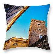 Secrets Of Italy  Throw Pillow