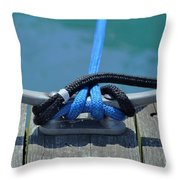 Secure In Port Throw Pillow