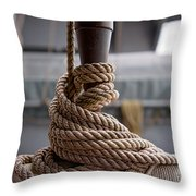 Secured Coils Throw Pillow