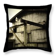 Security Light Throw Pillow