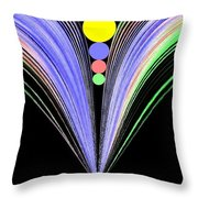 Security Throw Pillow by Will Borden