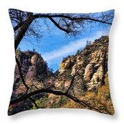 Sedona Arizona II Throw Pillow