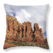 Sedona Arizona Red Rocks Throw Pillow