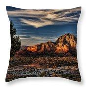 Sedona Arizona Throw Pillow