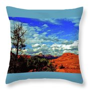 Sedona Capitol Butte Throw Pillow