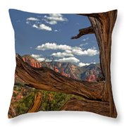 Sedona Mountains Arizona Throw Pillow