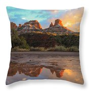 Sedona Reflections Throw Pillow