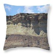 Sedona Rock Formation Throw Pillow