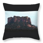 Sedona Rock Formation Throw Pillow