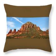 Sedona Rocks Hbn2 Throw Pillow