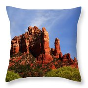 Sedona Rocks Throw Pillow