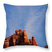 Sedona Sky Throw Pillow