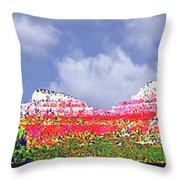 Sedona Snow Throw Pillow
