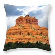 Sedona Spirit Rock Throw Pillow