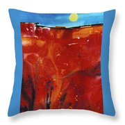 Sedona Sun Rise Throw Pillow