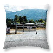 Sedro Wooley Rodeo Throw Pillow