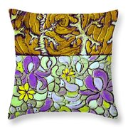 Seduced By The Meadow Throw Pillow
