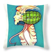 Seduction From Below Throw Pillow
