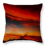 Seductive Seven Sisiters Throw Pillow