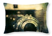 See Breathe Exhale Click Repeat Throw Pillow