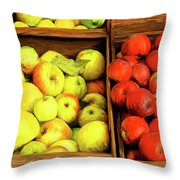 See Canyon Apples Throw Pillow