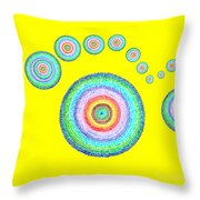 See Everything II Throw Pillow