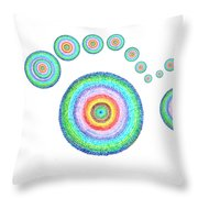 See Everything Throw Pillow