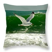 See Gull Throw Pillow