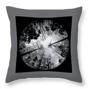 See Of Darkness Throw Pillow
