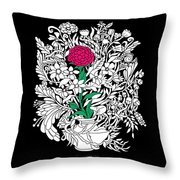 See Only Me Throw Pillow