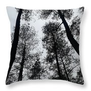See The Darkness Throw Pillow