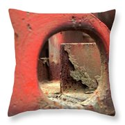 See The Rust Throw Pillow