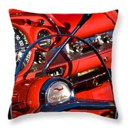 See The Usa In Your Chevrolet 1 Throw Pillow
