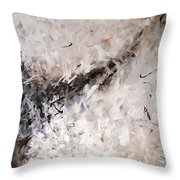 See The World Turn Abstract Painting Throw Pillow