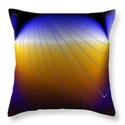 See Thru Shapes Throw Pillow