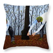 See What I Saw - 2d Throw Pillow