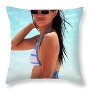 See You A S A P Throw Pillow