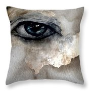 See You In Another Life Ol' Blue Eyes Throw Pillow