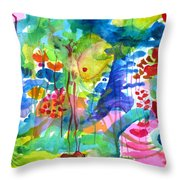 See You In The Deep End Throw Pillow