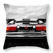 See You Later - Pontiac Trans Am Throw Pillow