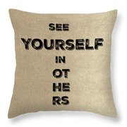 See Yourself #1 Throw Pillow