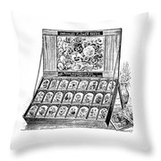 Seed Bank Throw Pillow