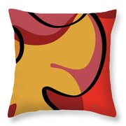 Seed Culture - Hibiscus Throw Pillow
