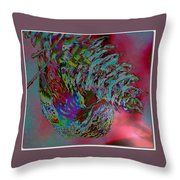 Seed Eater Throw Pillow