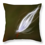 Seed Of Milk Weed Throw Pillow