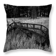Seed Sowing Machine Throw Pillow