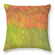Seeds Of Creation Throw Pillow