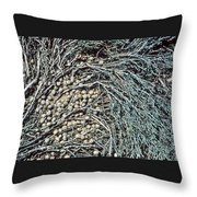 Seeds Of The Sea Throw Pillow